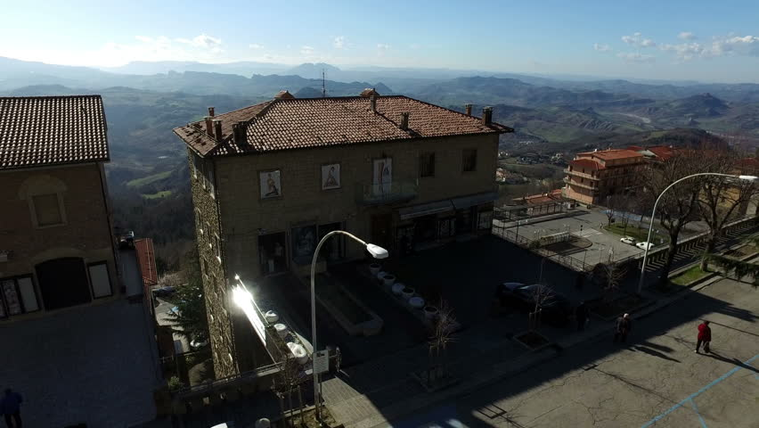 Old buildings in San Marino,27 February 2017 | Shutterstock HD Video #25280804