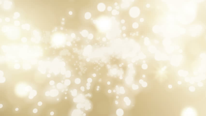 flying sparkles - christmas golden background