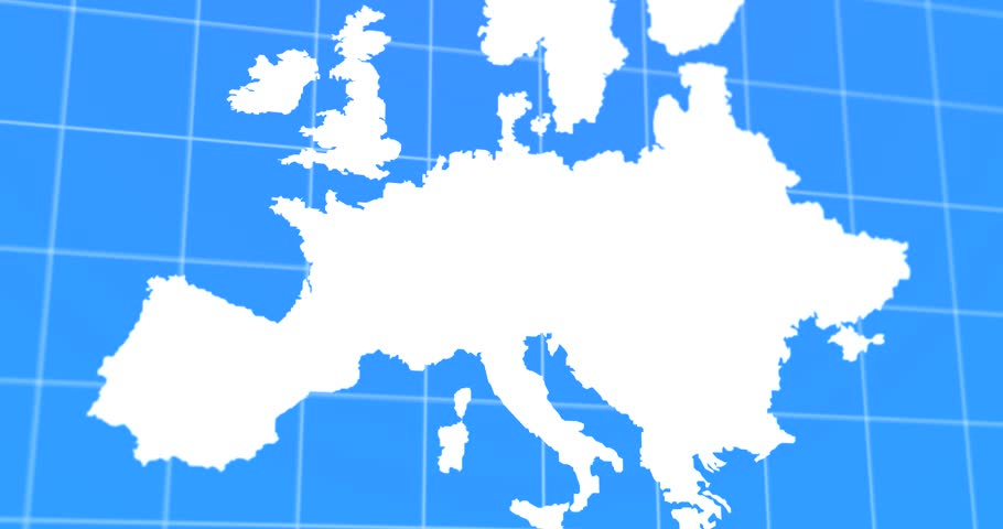 Animated travel and business trip infographic on black europe earth animated travel and business trip infographic on white europe earth map 4k rendered video 4k gumiabroncs Choice Image