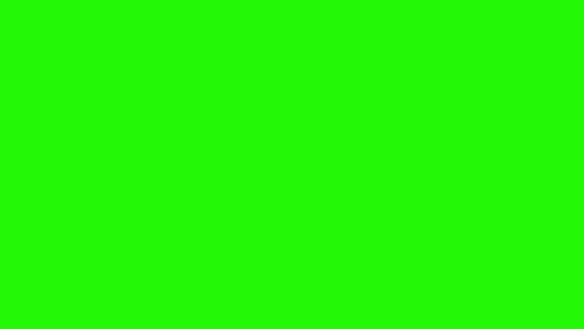 1 Tentacle Monster Octopus Attack Green Screen 3D Rendering Animation