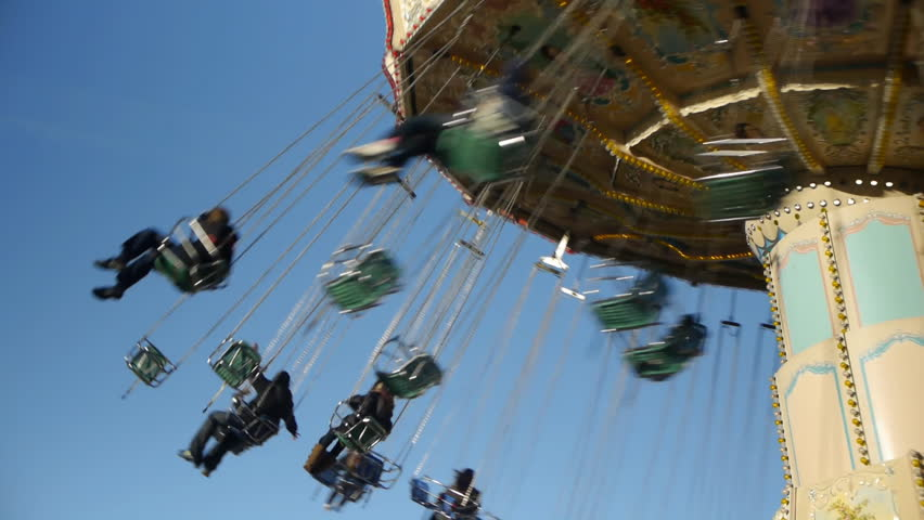 Chair O Plane fair ride, also known as an Italian Trapeze in some amusement parks