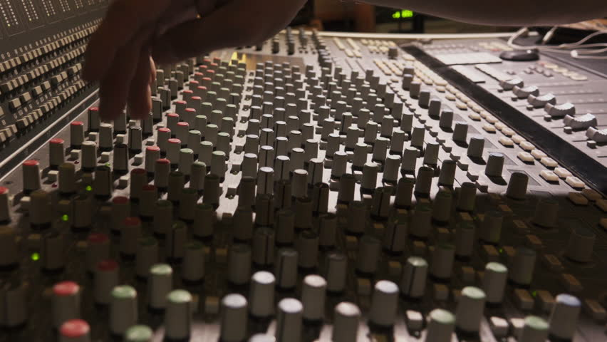 Sound Engineer on Mixing Console | Shutterstock HD Video #26059544