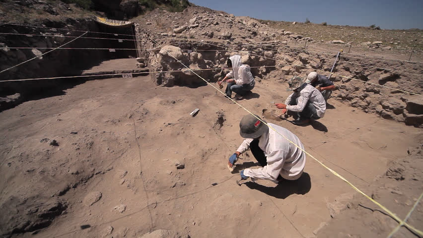 Header of archaeological