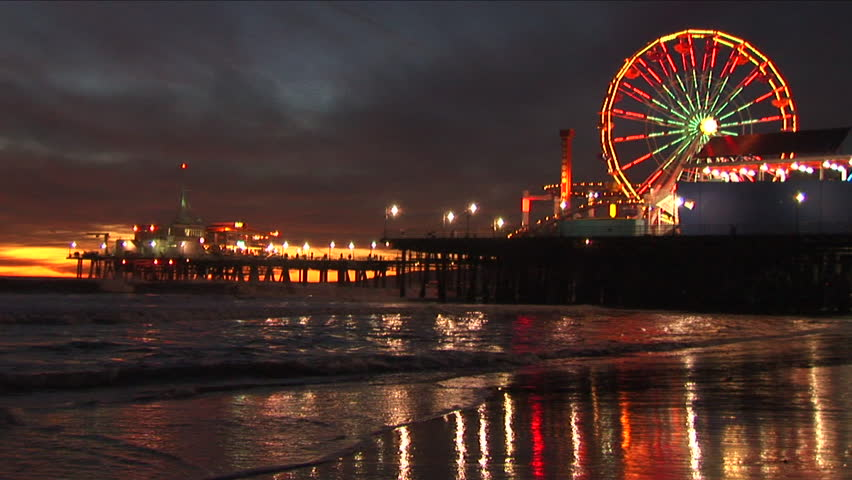 Santa Monica Wheel Stock Video Footage 4k And Hd Clips Shutterstock