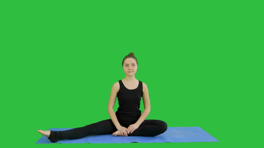 Young Woman Stretching Her Legs Stock Footage Video (100% Royalty-free)  26181374 | Shutterstock