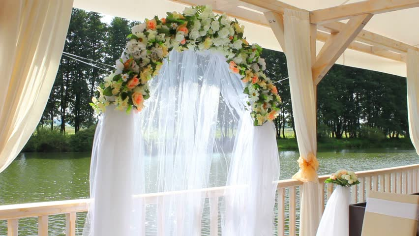 Wedding decorations made of flowers stock footage video 2620055 wedding decorations made of flowers hd stock video clip junglespirit Gallery