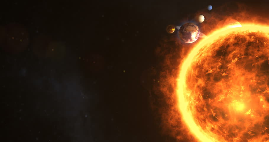 Solar System with Sun and Stock Footage Video (100% Royalty-free) 26205434  | Shutterstock