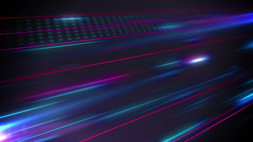 Abstract noise colored lines with dots flow animation in perspective on dark background. | Shutterstock HD Video #26276714