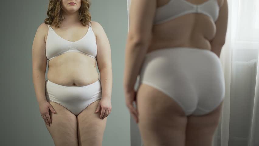 Chubby girls in underwear