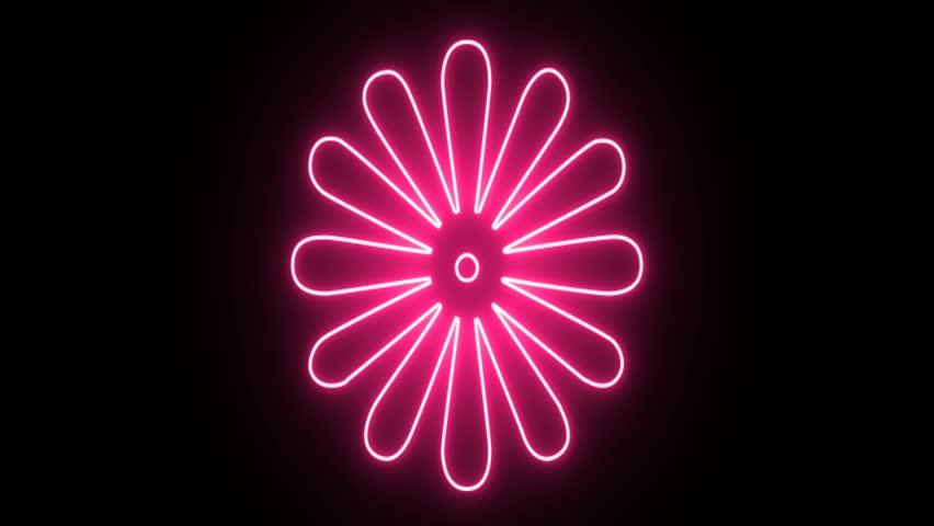 Neon pink flower background wiring diagrams stock video of 4k neon pink flower shape flickering 26344784 rh shutterstock com cool pink backgrounds pastel pink background mightylinksfo