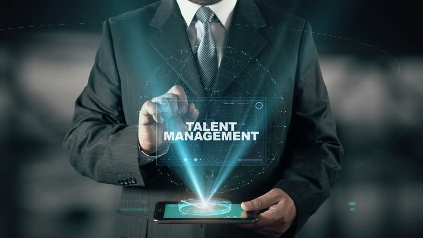 Businessman with Talent Management hologram concept | Shutterstock HD Video #26370824