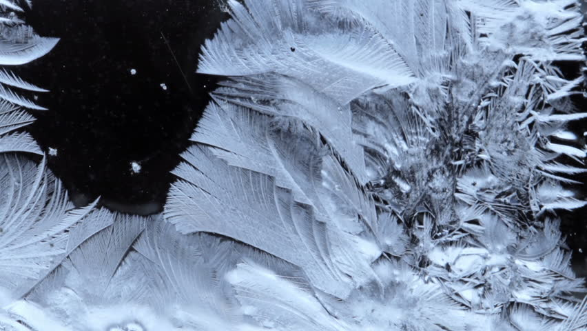 Frozen pattern cover the dark background from left to right | Shutterstock HD Video #26401028