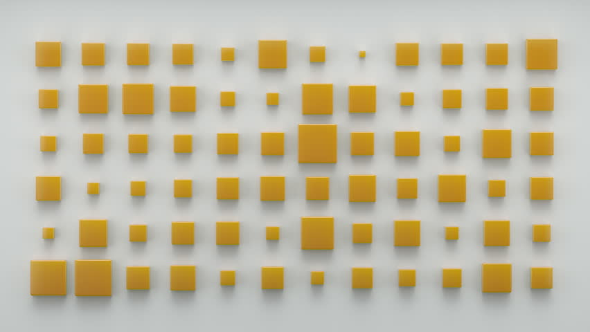 Abstract Box Background Random Motion, 3d Loopable Animation 4k | Shutterstock HD Video #26415794