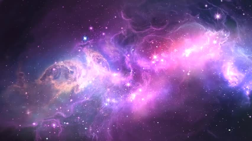 abstract starburst galaxy loop stock footage video 3893714