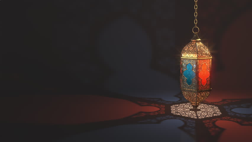 Ramadan candle lantern slow speed loop animation (16 sec), Featuring such intricate patterns and cut work like an exotic treasure. Buy it now and start using this quality video in your design.