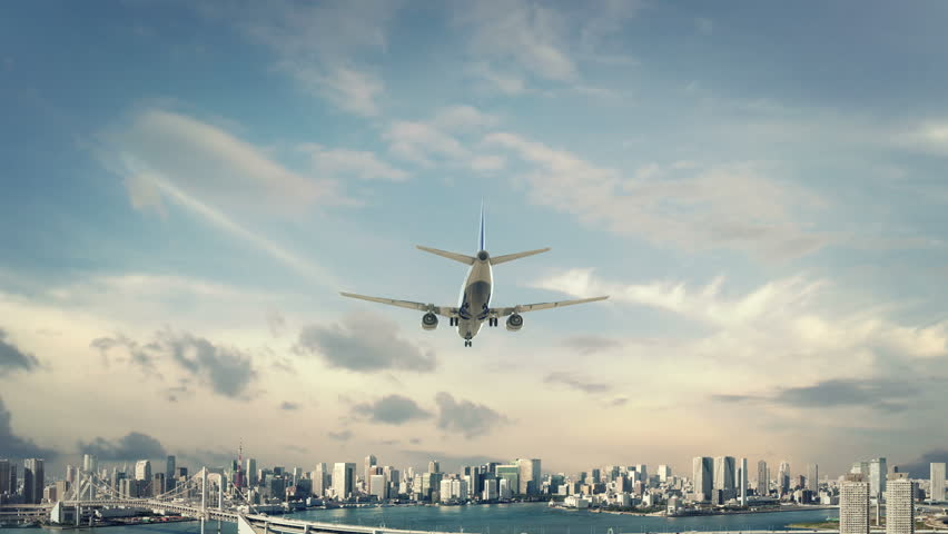 Airplane Landing Tokyo Japan new first #26644774