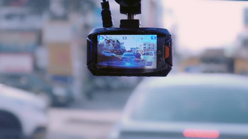 Front camera car recorder   Shutterstock HD Video #26673184