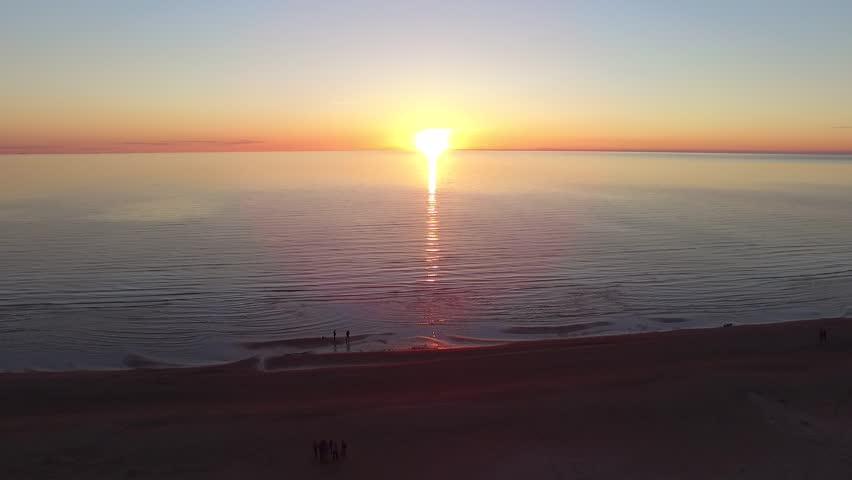 Beautiful sunset, Estonia, Baltic sea | Shutterstock HD Video #26847424
