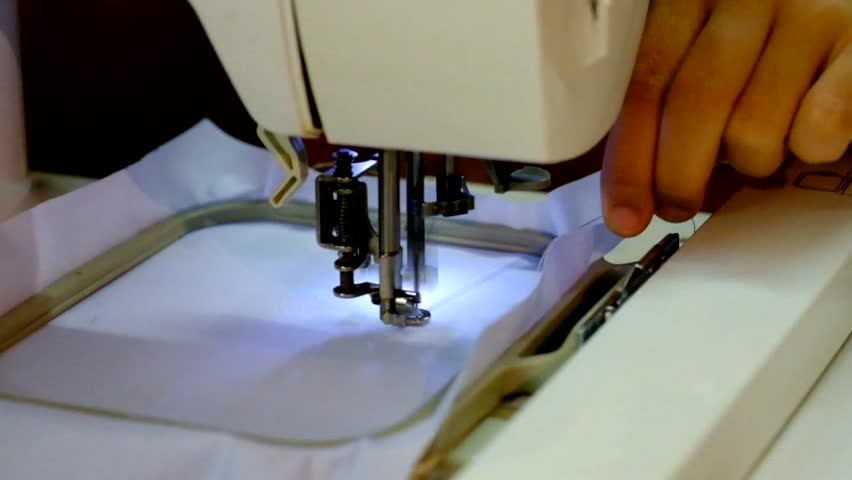 Header of embroidery