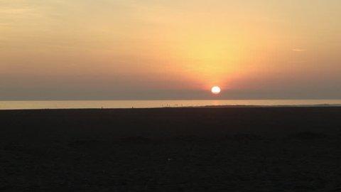 SUNSET IN ARICA PACIFIC