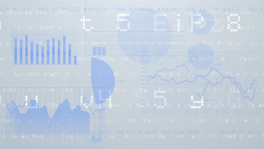 Business data graph digital world space number text. | Shutterstock HD Video #27086449