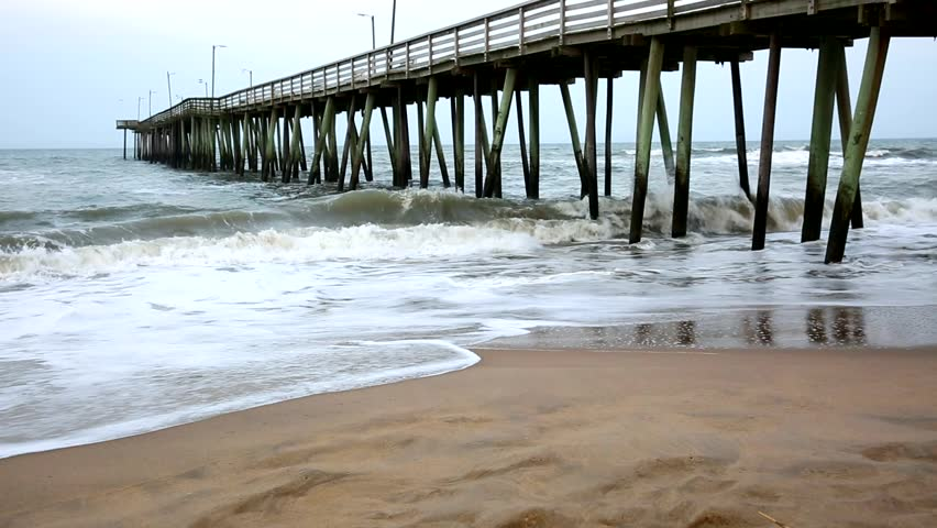 Rudee inlet and harbor at virginia beach stock footage for Rudee inlet fishing