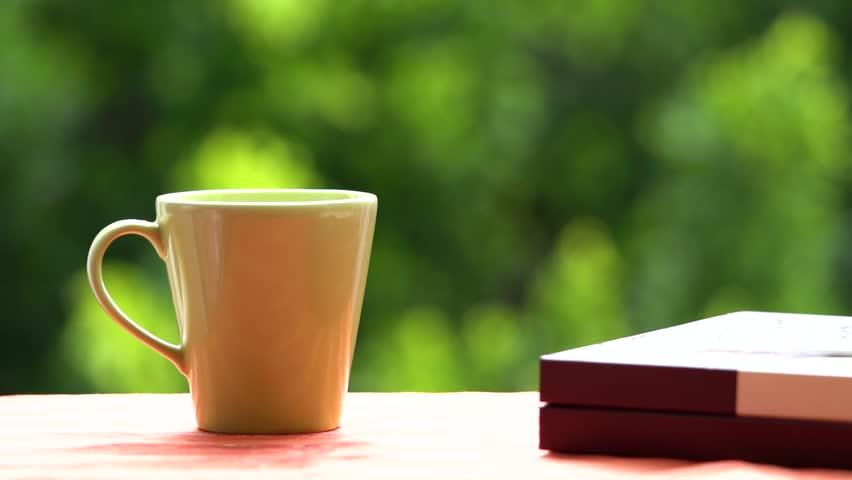 Coffee with dark chocolate and chocolate box  | Shutterstock HD Video #27177544