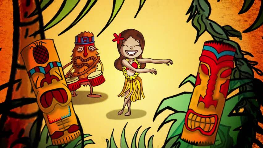 Header of hula