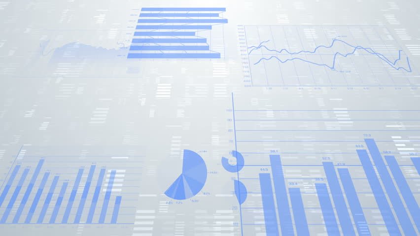 Business data graph digital world space. | Shutterstock HD Video #27301384