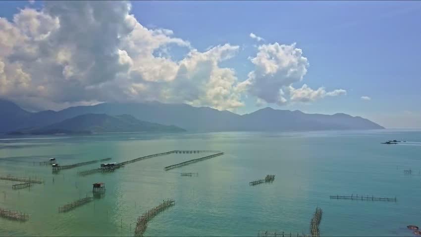 Cruise Ship And Boats Near Phuket Patong Beach Thailand Stock - Cruise ship turns over