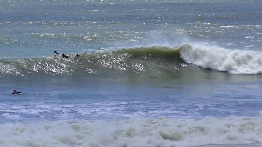 Unidentified Surfers At Ano Nuevo Stock Footage Video 100 Royalty Free 27305974 Shutterstock