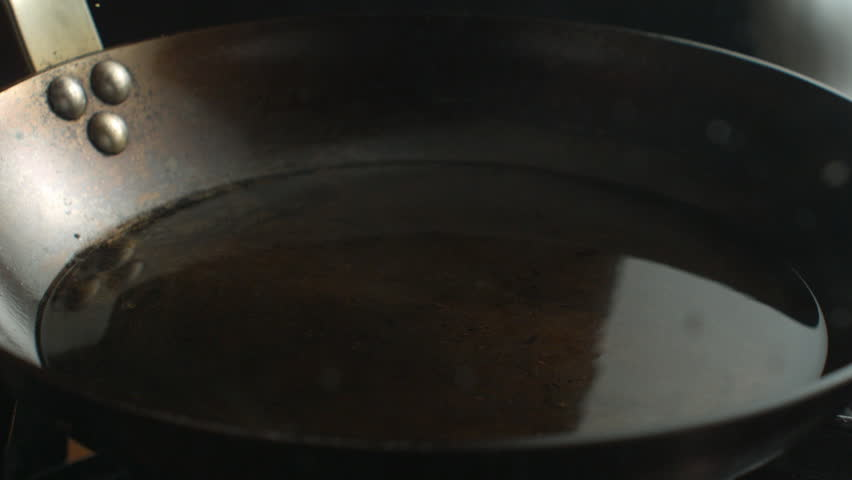 Chicken Breast - Schnitzel Falling on Hot Pan with Oil in Super Slow Motion | Shutterstock HD Video #27350524