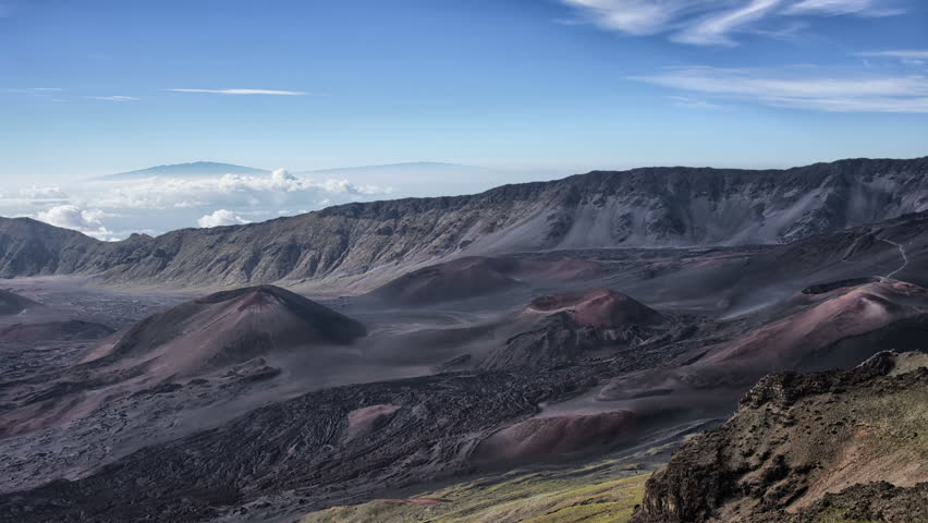 4k uhd craters national park haleakala volcano time lapse stock hdr time lapse haleakala maui hawaii volcanic cinder cone crater hd stock publicscrutiny Image collections