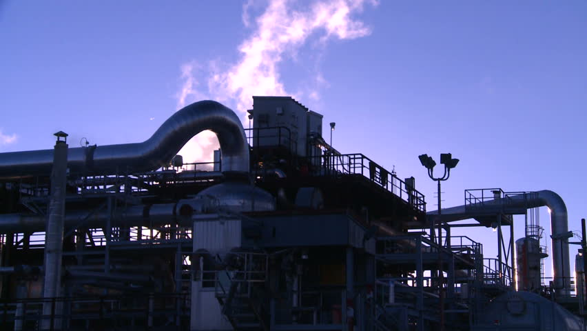 gas plant, industrial