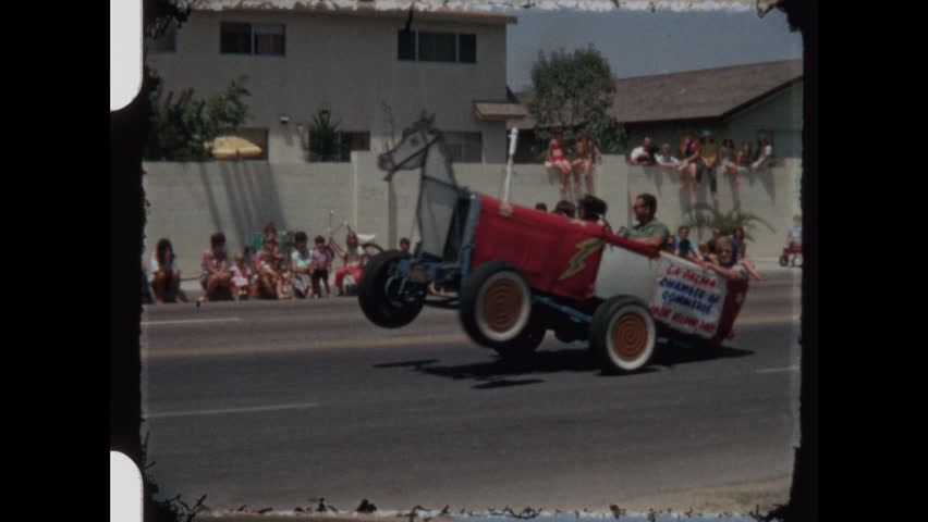 Parade in southern California 1970's.