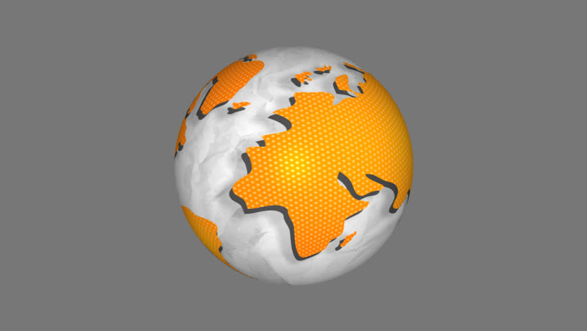 Animated globe network seamless loop  | Shutterstock HD Video #27693424