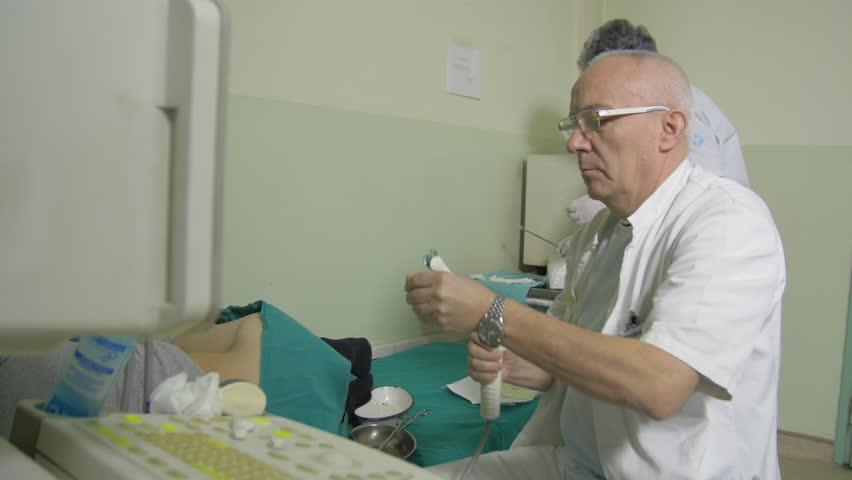 urology  urological examination  urologist doing medical