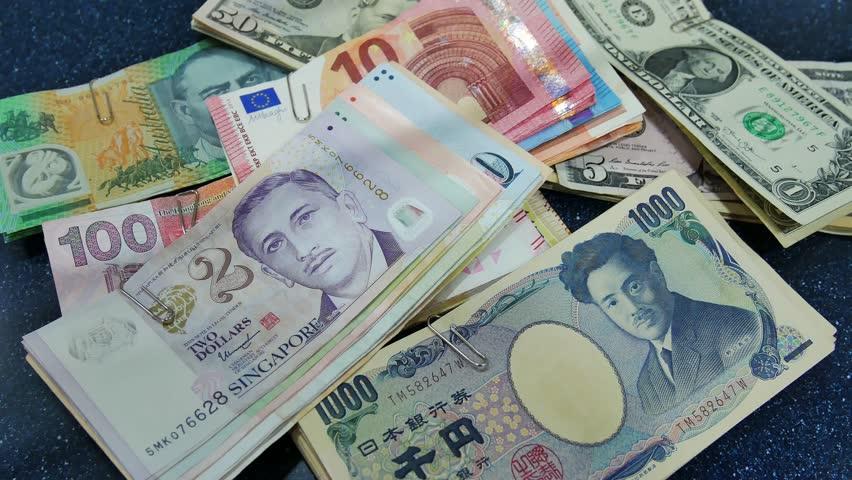 Euro Us Dollar Anese Yen Stock Footage Video 100 Royalty Free 27911884 Shutterstock