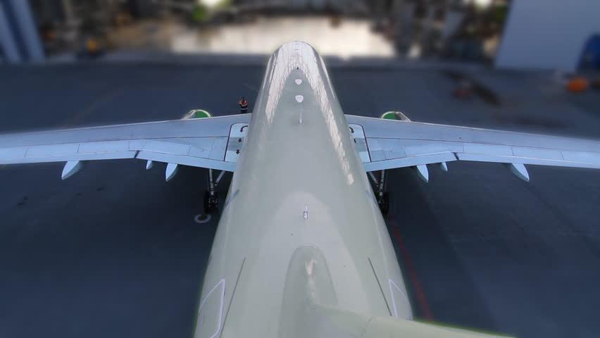 Header of hangar