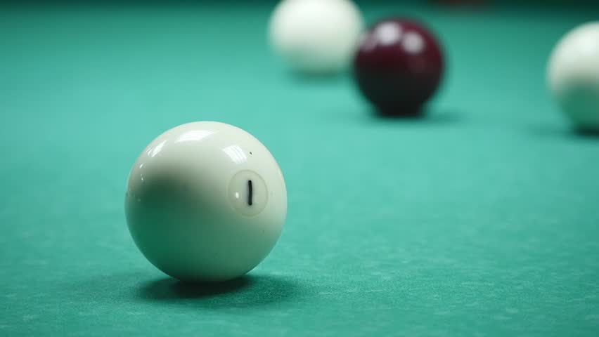 The Russian billiards are balls. | Shutterstock HD Video #27973951