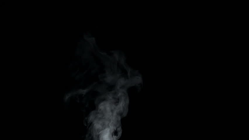 Steam slow motion at 960 fps on black background #27993334