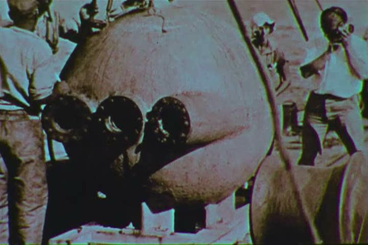 Header of bathysphere