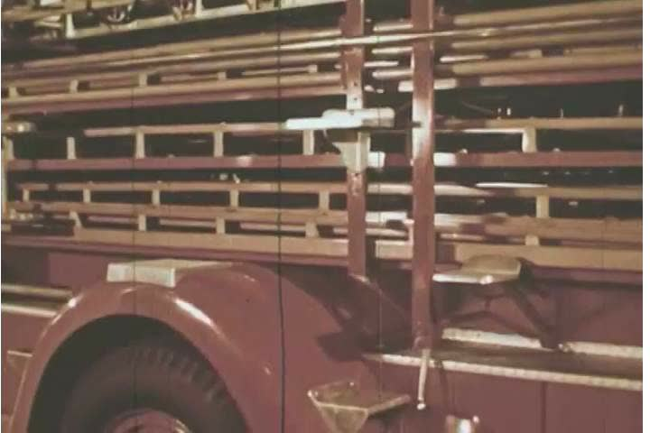 Header of Aerial Ladder Truck