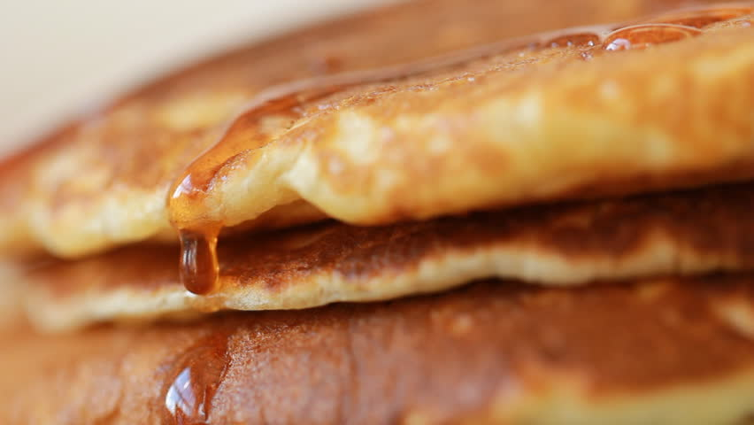Food pancake maple syrup pouring onto stack of pancakes making food pancake maple syrup pouring onto stack of pancakes making pumpkin pancakes on frying pan ccuart Image collections