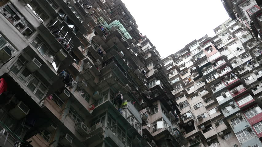 Old apartment In Hong Kong. | Shutterstock HD Video #28107304