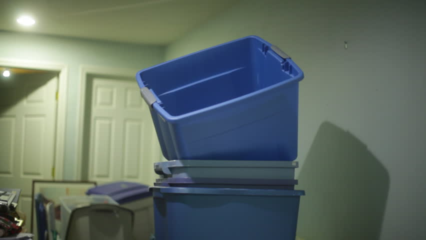 Storage bins. Hoarding  | Shutterstock HD Video #2832124