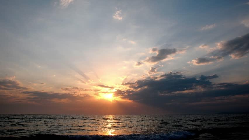 Sunset over water | Shutterstock HD Video #2840014