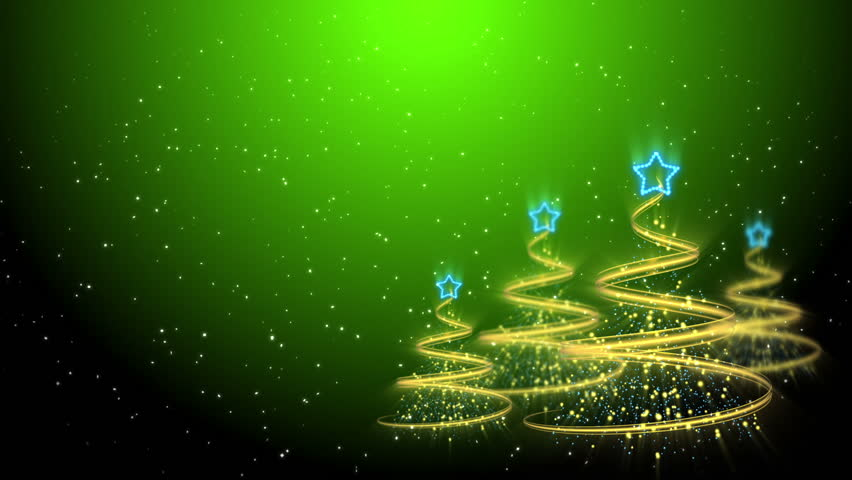 Christmas Green Color.Christmas Trees Background Merry Stock Footage Video 100 Royalty Free 2844484 Shutterstock