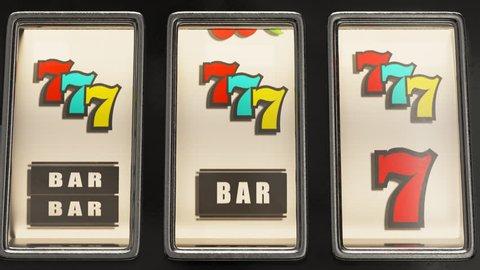 Slot machine winner payout