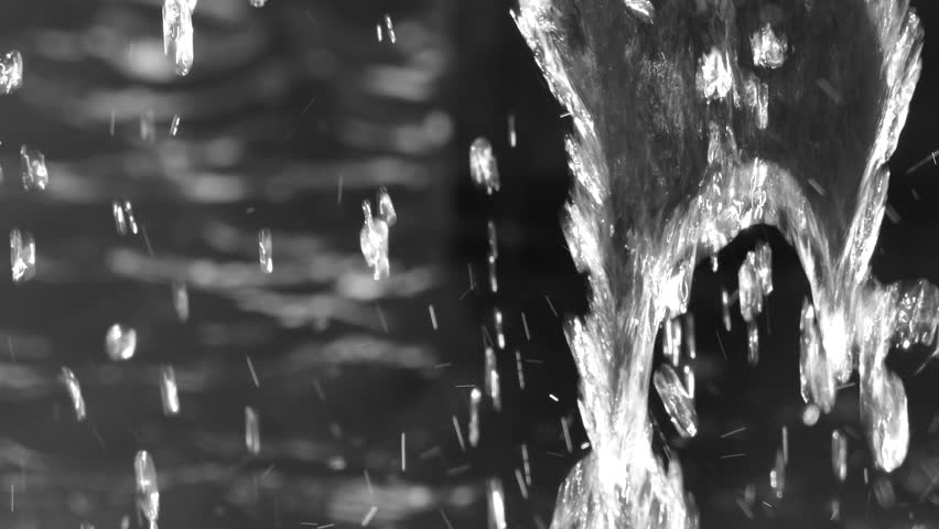 Black and white fountain   Shutterstock HD Video #28592140
